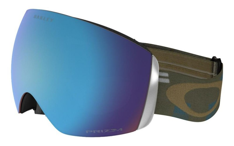 Oakley Flight Deck - Disruptive Blue Copper / Prizm Snow Sapphire Iridium - OO7050-27 Skibril