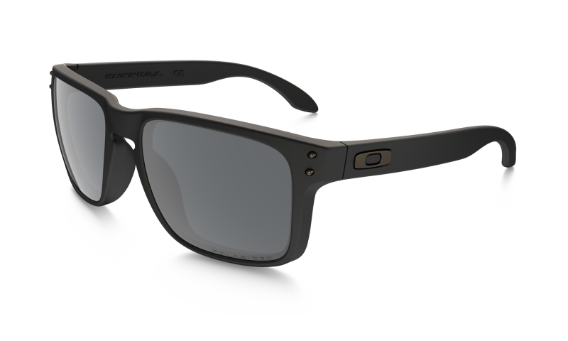 Oakley Holbrook - Matte Black / Black Iridium Polarized