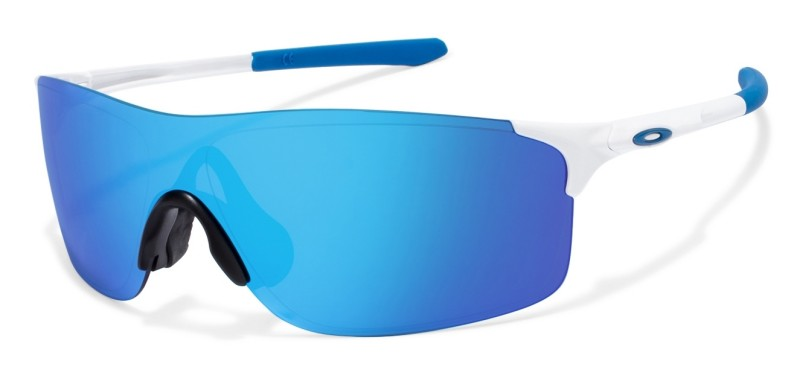 Oakley EV Zero Pitch - Polished White / Sapphire Iridium - OO9383-0238 Zonnebril