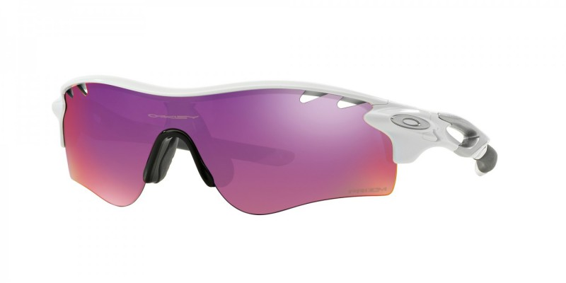 Oakley Radarlock Path Polished White + Prizm Road & Persimmon Vented OO9181-40