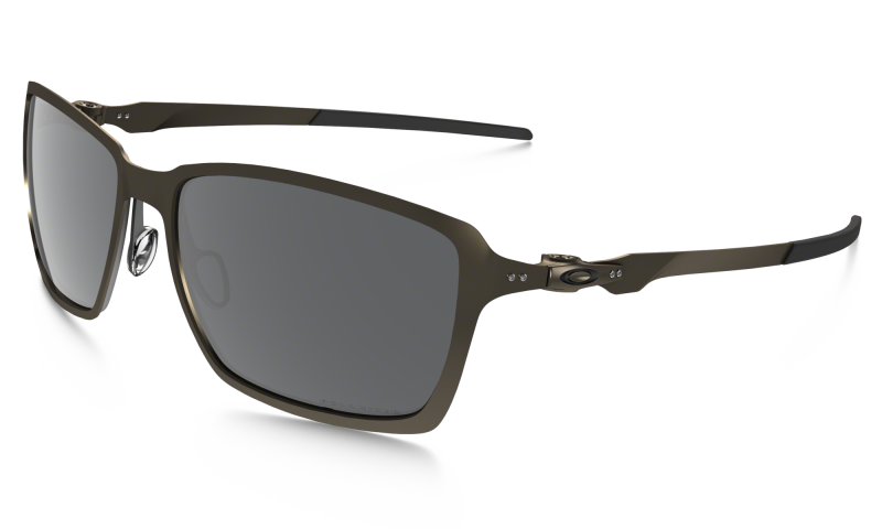 Oakley Tincan - Pewter / Black Iridium Polarized