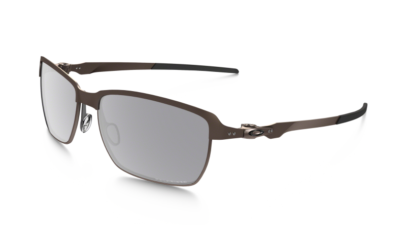 Oakley Tinfoil - Brushed Chrome / Grey Polarized