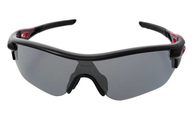 Oakley Radarlock Edge (Asian Fit) Polished Black + Slate Iridium OO9209-02 Zonnebril