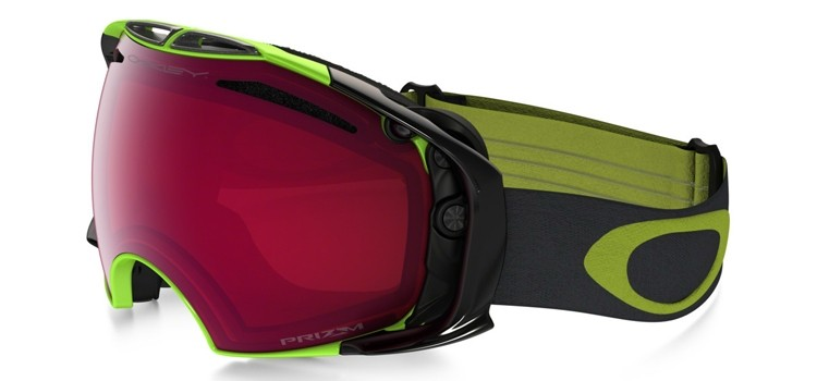 Oakley Airbrake - Citrus Iron / Prizm Snow Rose & Dark Grey - OO7037-50 Skibril
