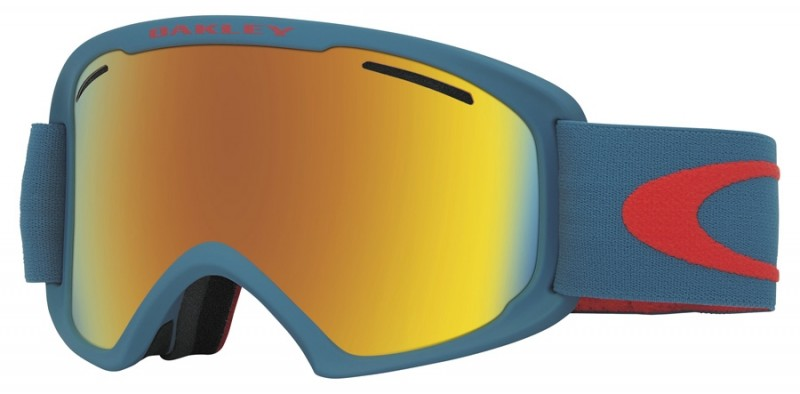 Oakley O2 XL - Neuron Burnished Red / Fire Iridium - OO7045-30 Skibril