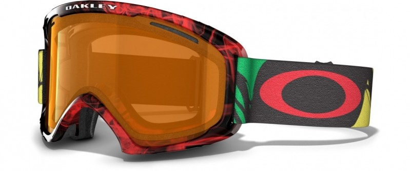 Oakley O2 XL - Burned Out Rasta / Persimmon - 59-663 Skibril