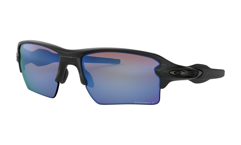 Oakley Flak 2.0 XL - Matte Black / Prizm Deep Water Polarized