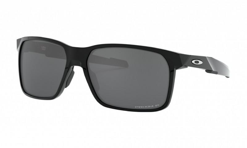 Oakley Portal X Polished Black / Prizm Black Polarized