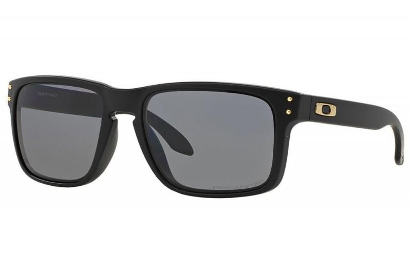 Oakley Holbrook Shaun White Gold series - Matte Black / Grey Polarized - OO9102-17 Zonnebril