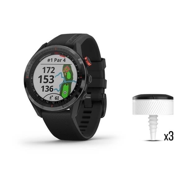 Garmin Approach S62 Zwart Golfhorloge + CT10 Sensoren