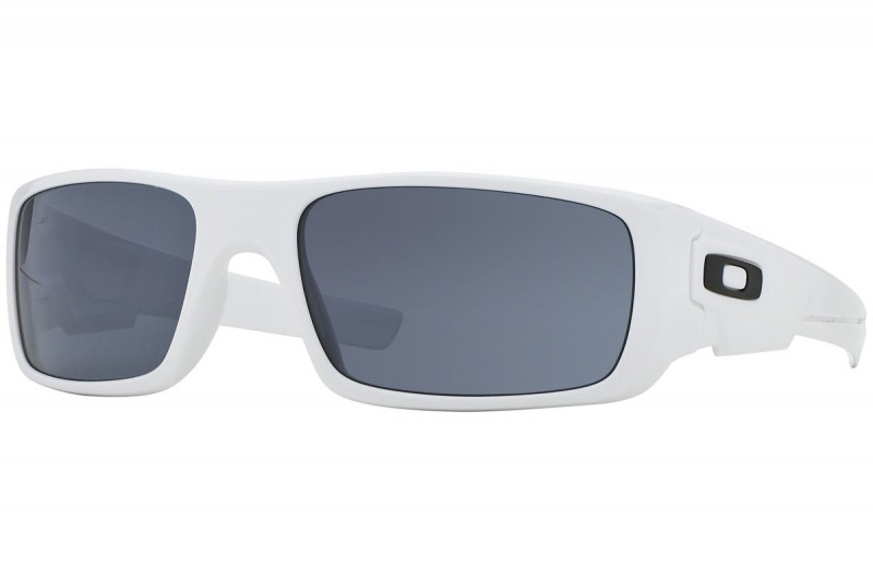 Oakley Crankshaft Polished White + Grey OO9239-05