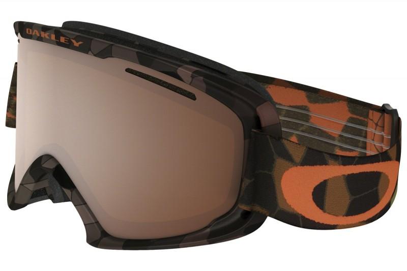 Oakley O2 XM - Cell Blocked Copper Orange / Black Iridium - OO7066-07 Skibril