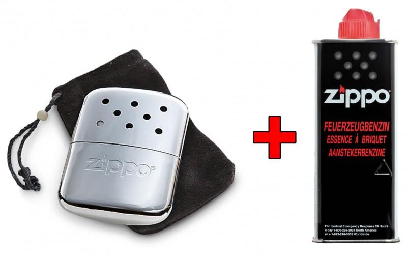 Zippo Handwarmer met flesje brandstof