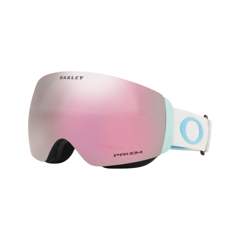 Oakley Flight Deck XM Grey Sapphire + Prizm Snow Hi Pink Iridium OO7064-80