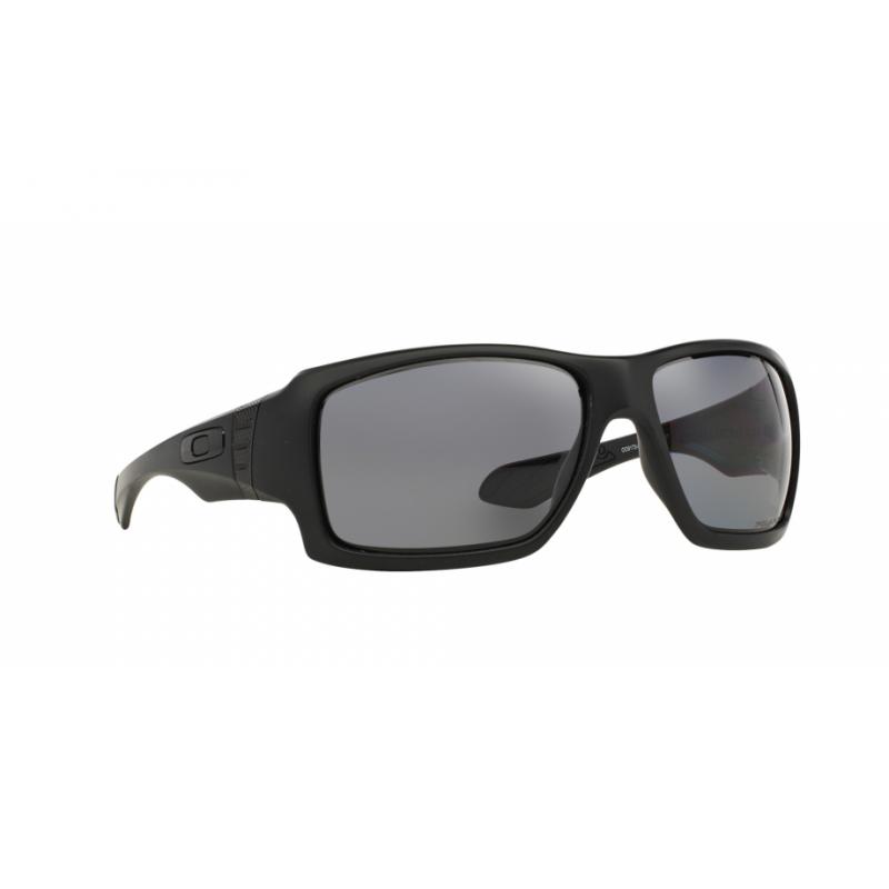 Oakley Big Taco - Matte Black / Grey Polarized - OO9173-04 Zonnebril