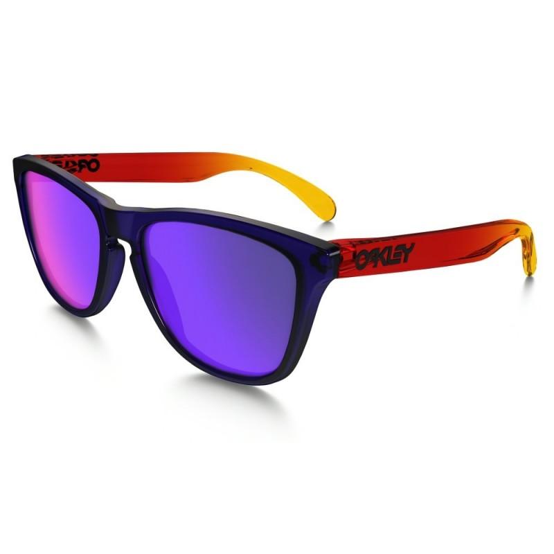 Oakley Frogskins - Surf Purple / +Red Iridium - OO9013-45 Zonnebril