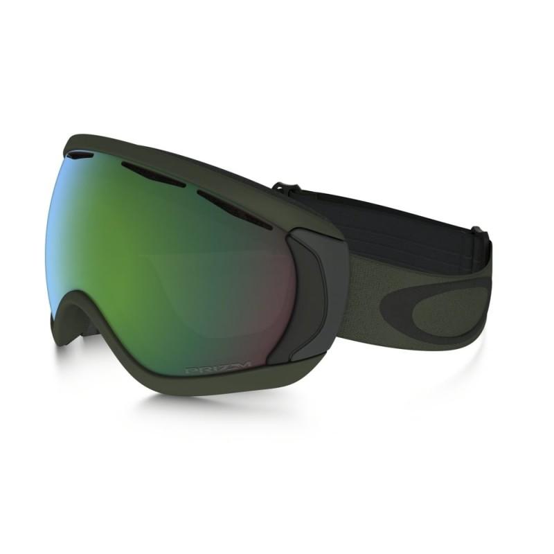 Oakley Canopy - Army Green Iron / Prizm Snow Jade Iridium - OO7047-66 Skibril