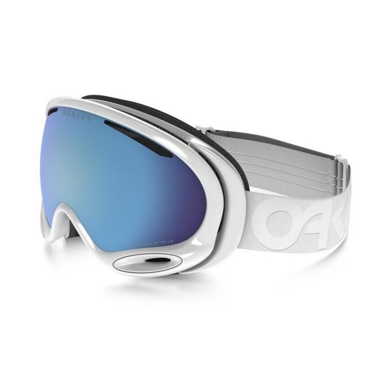 Oakley A Frame 2.0 - Factory Pilot Whiteout / Prizm Snow Sapphire Iridium - OO7044-57 Skibril