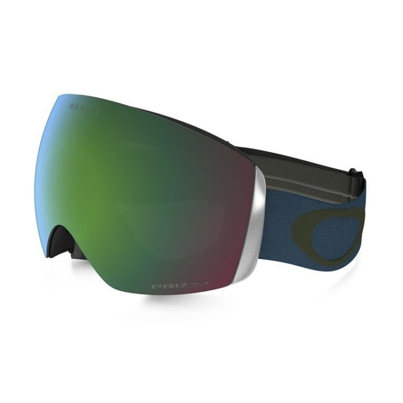 Oakley Flight Deck - Legion Blue Green / Prizm Snow Jade Iridium - OO7050-40 Skibril