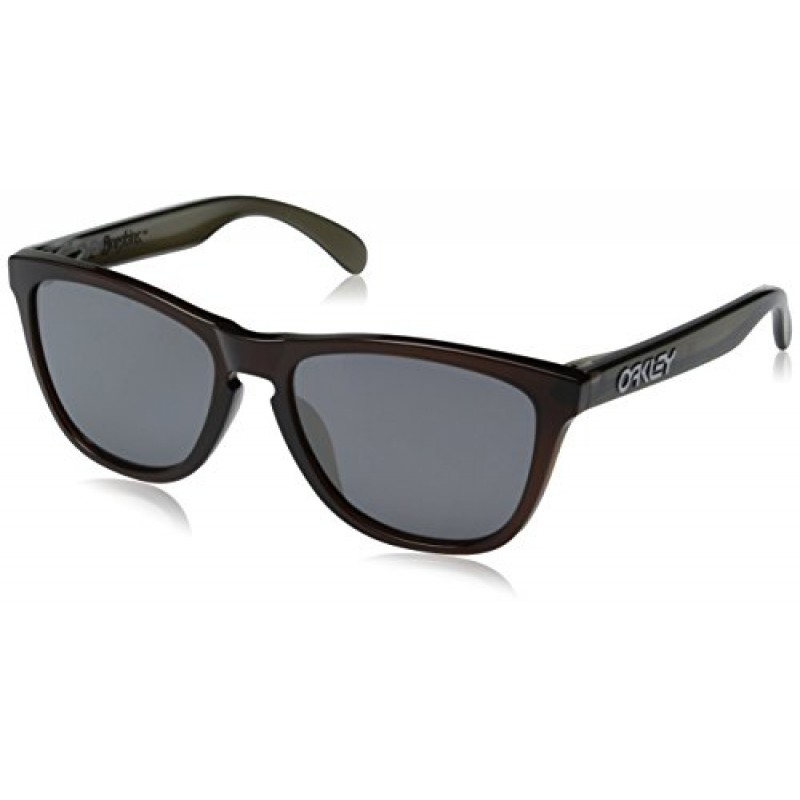 Oakley Frogskins (Asian Fit) Vapor + Black Iridium OO9245-11