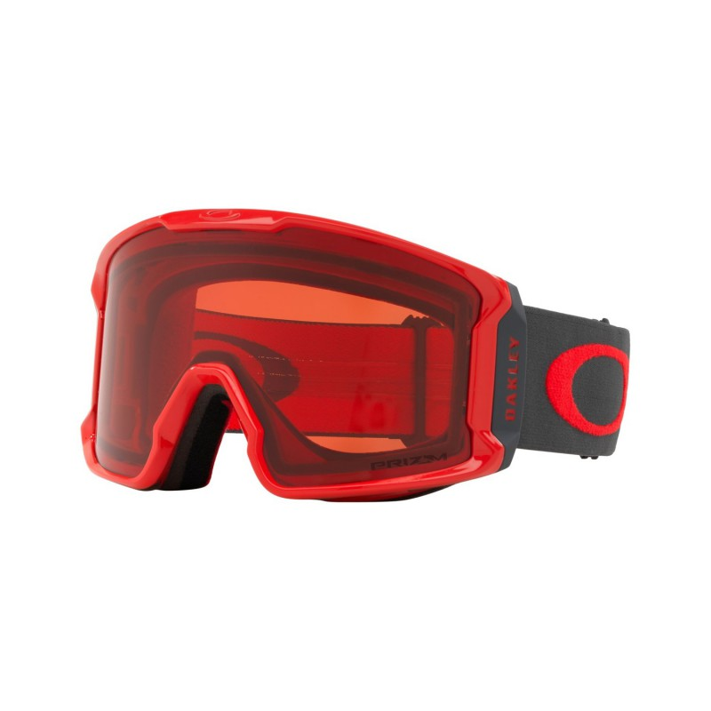 Oakley Line Miner Red Forged Iron + Prizm Snow Rose OO7070-39