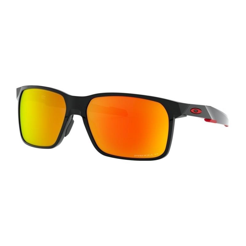 Oakley Portal X Polished Black / Prizm Ruby Polarized OO9460-05