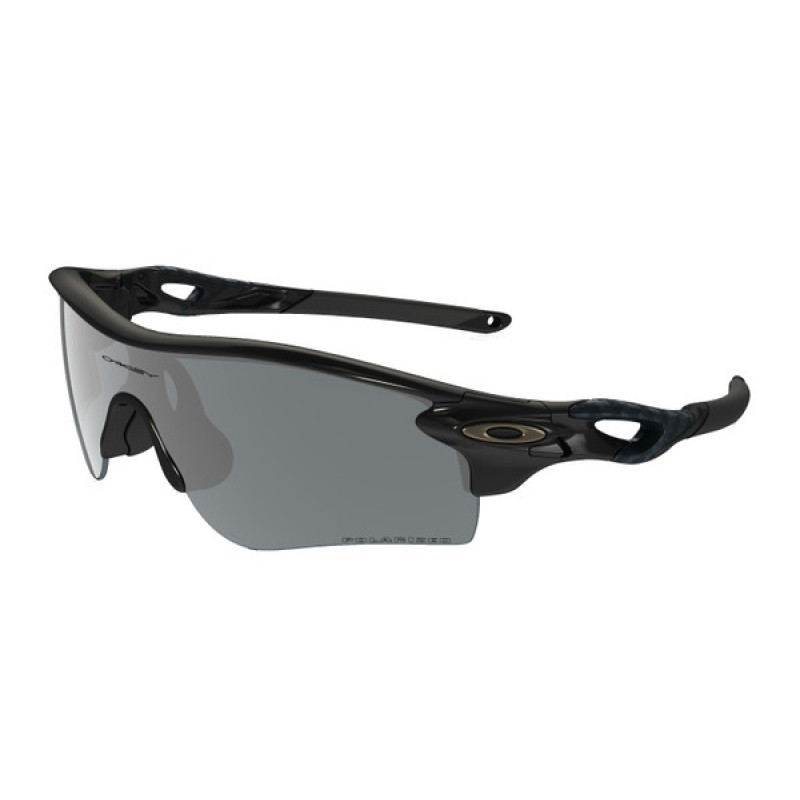 Oakley Radarlock Path Polished Black + Black Iridium Polarized & VR28 Black Iridium OO9181-12
