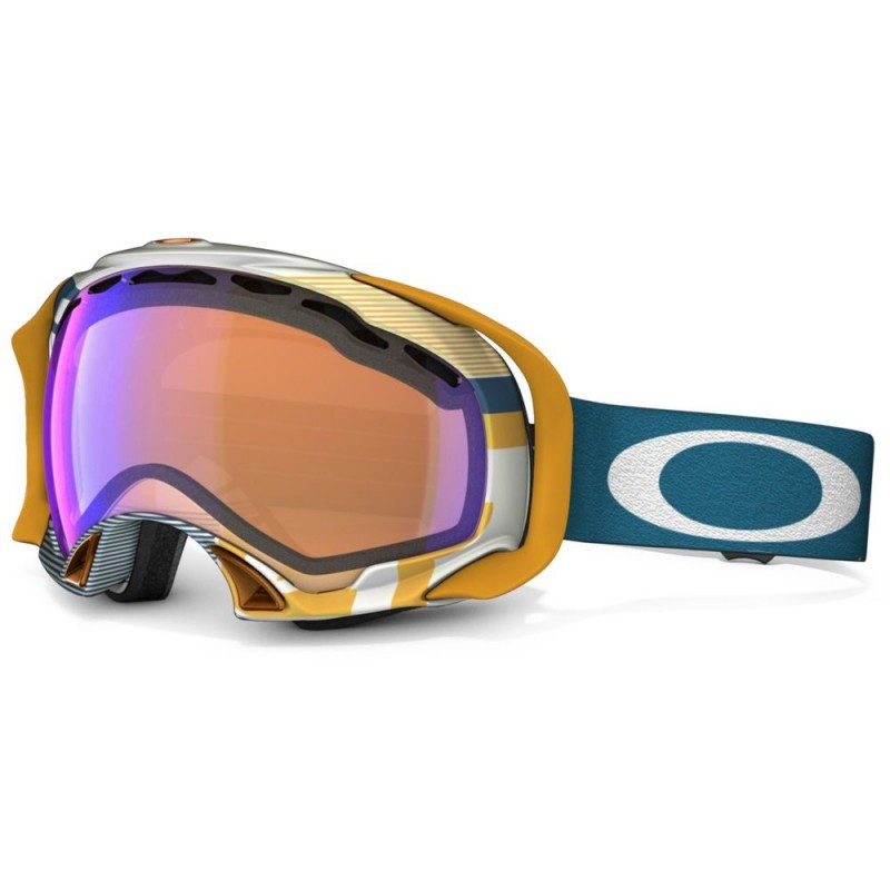 Oakley Splice - 1975 Blue Orange / Blue Iridium - 59-610 Skibril