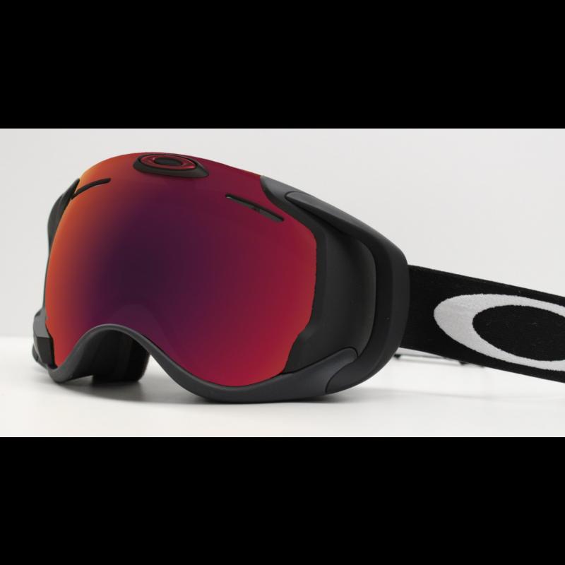 Oakley Airwave 1.5 Matte Black / Prizm Snow Torch Iridium - Skibril