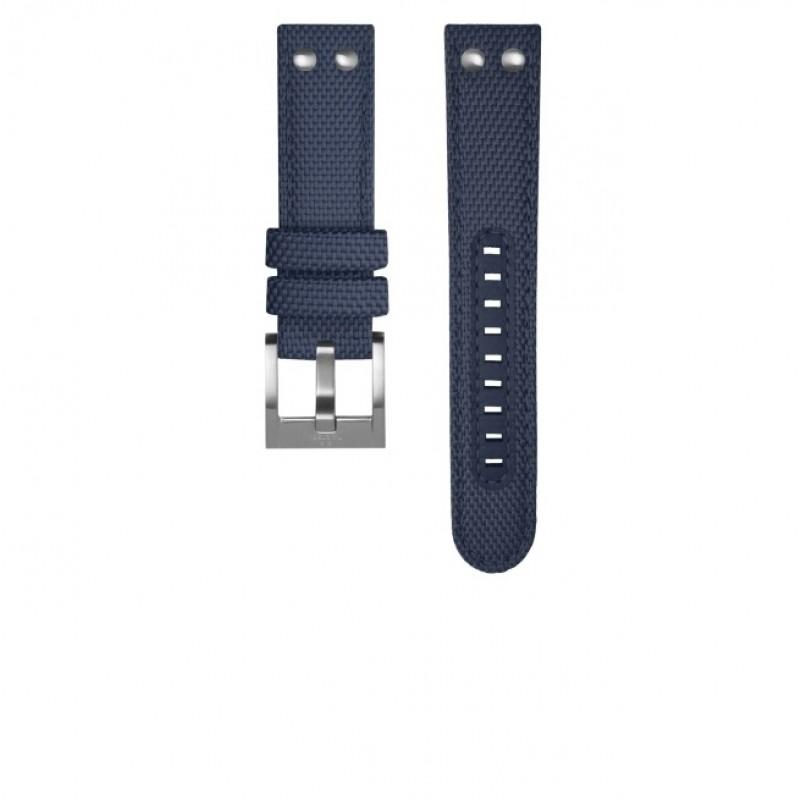 TW Steel Volante Horlogeband Donkerblauw TWS605