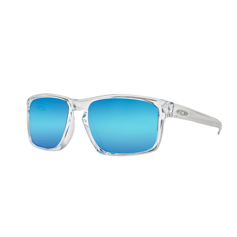Oakley Sliver (Asian Fit) Polished Clear / Sapphire Iridium - OO9269-04 Zonnebril