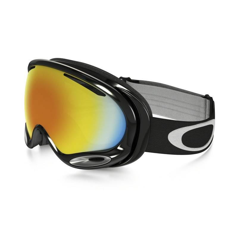 Oakley A Frame 2.0 - Jet Black / Fire Iridium - Skibril