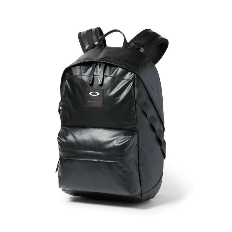 Oakley Holbrook 23L LX Coated Backpack - Blackout - 921014A-02E