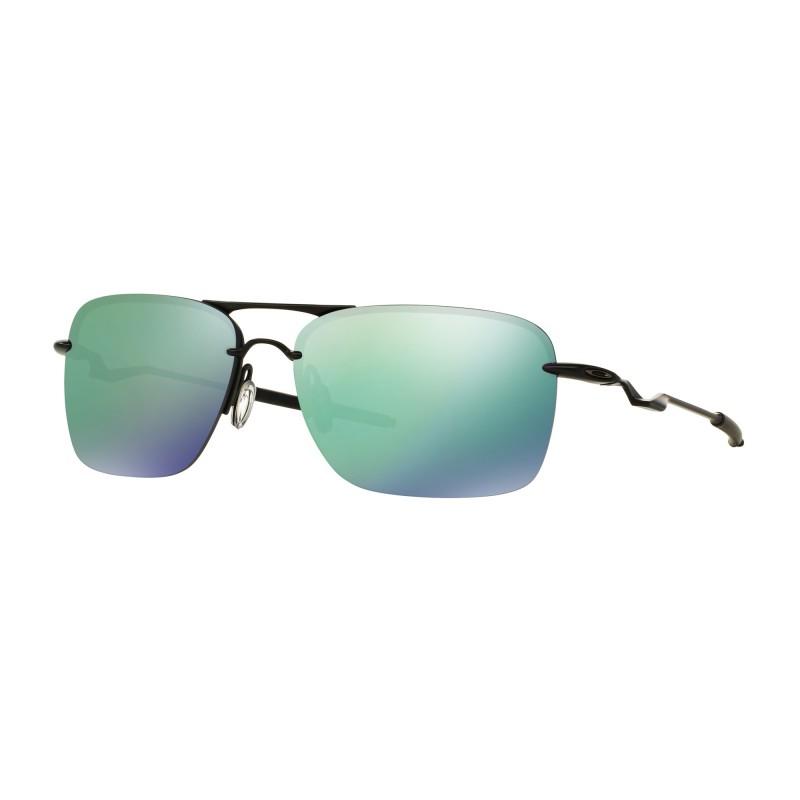 Oakley Tailback - Satin Black / Jade Iridium - OO4109-05 Zonnebril