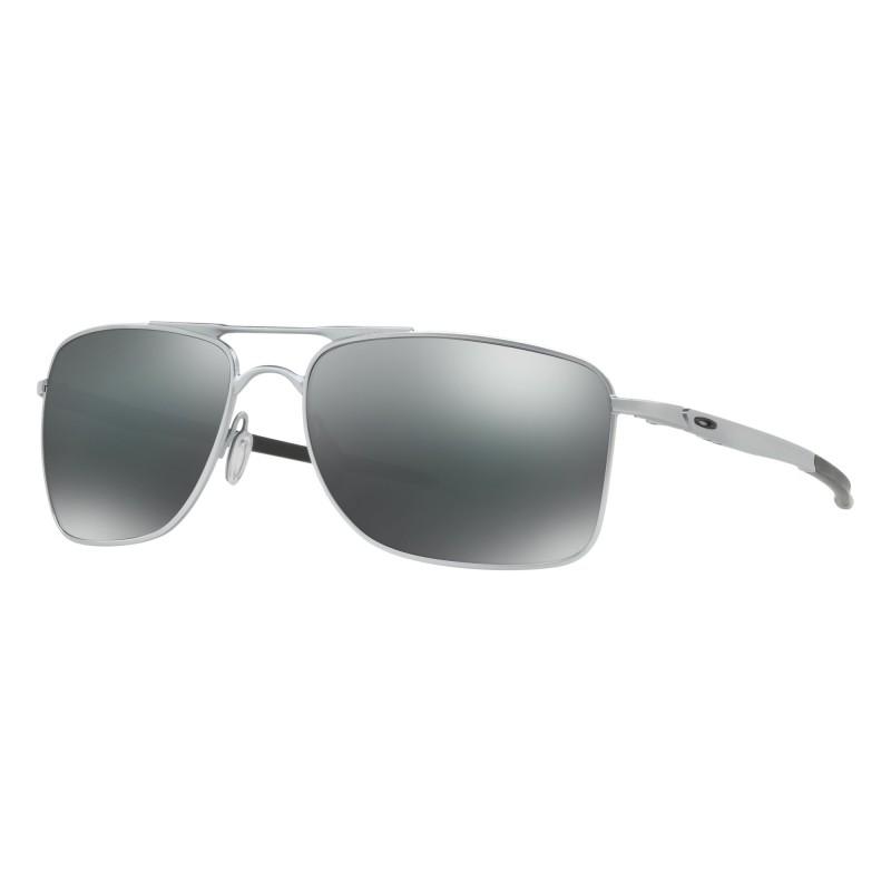 Oakley Gauge 8 M - Matte Lead / Black Iridium - OO4124-0757 Zonnebril