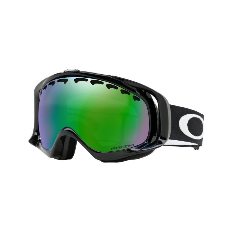Oakley Crowbar - Jet Black / Prizm Snow Jade Iridium - OO7005-02 Skibril
