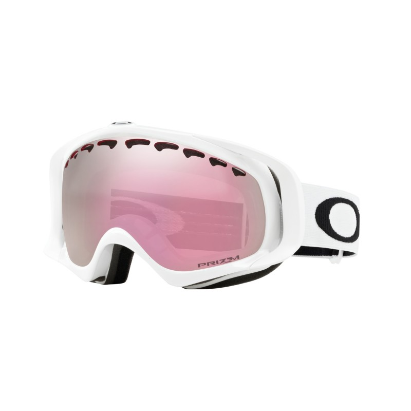 Oakley Crowbar - Polished White / Prizm Snow HI Pink Iridium - OO7005N-41 Skibril