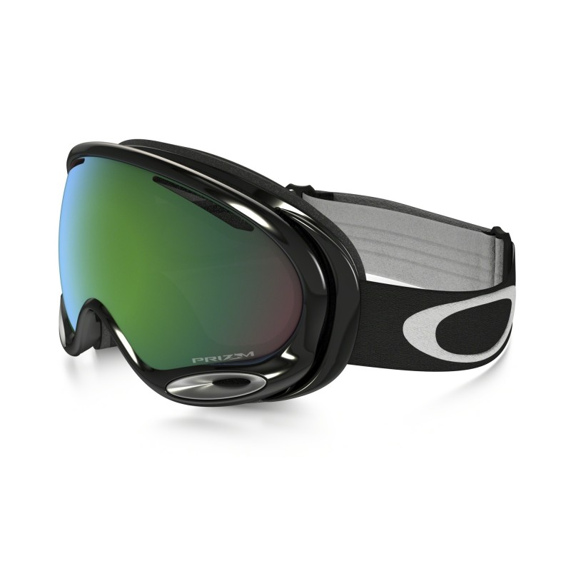 Oakley A Frame 2.0 - Jet Black / Prizm Jade Iridium - Skibril OO7044-01