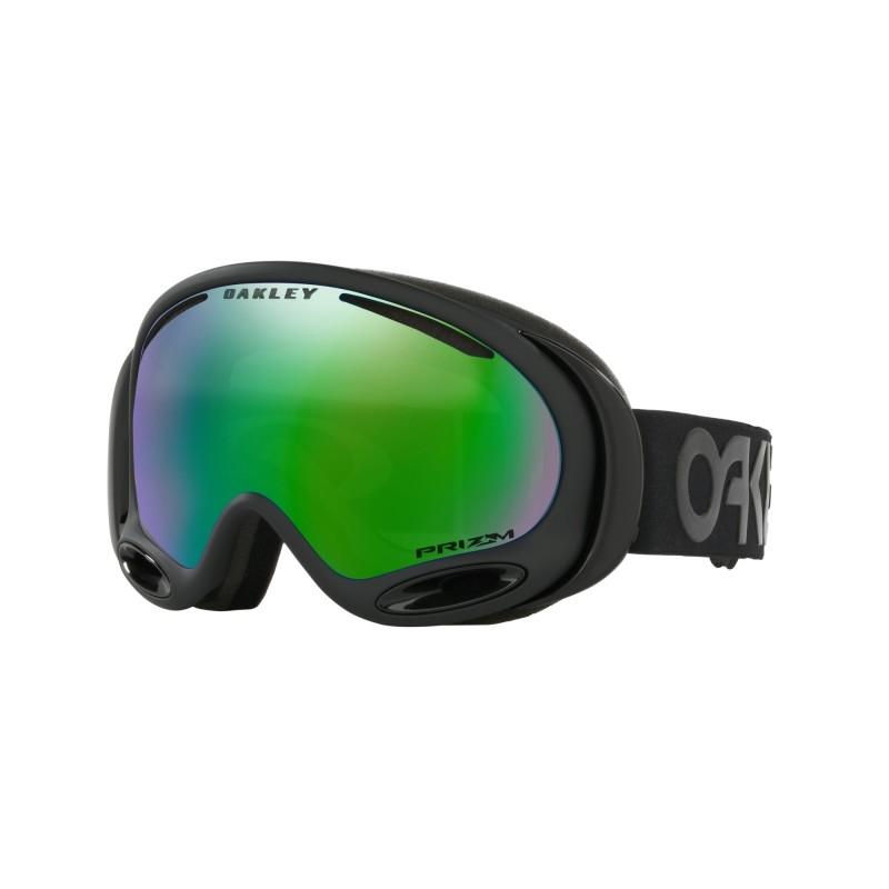 Oakley A Frame 2.0 - Factory Pilot Blackout / Prizm Snow Jade Iridium - OO7044-66 Skibril