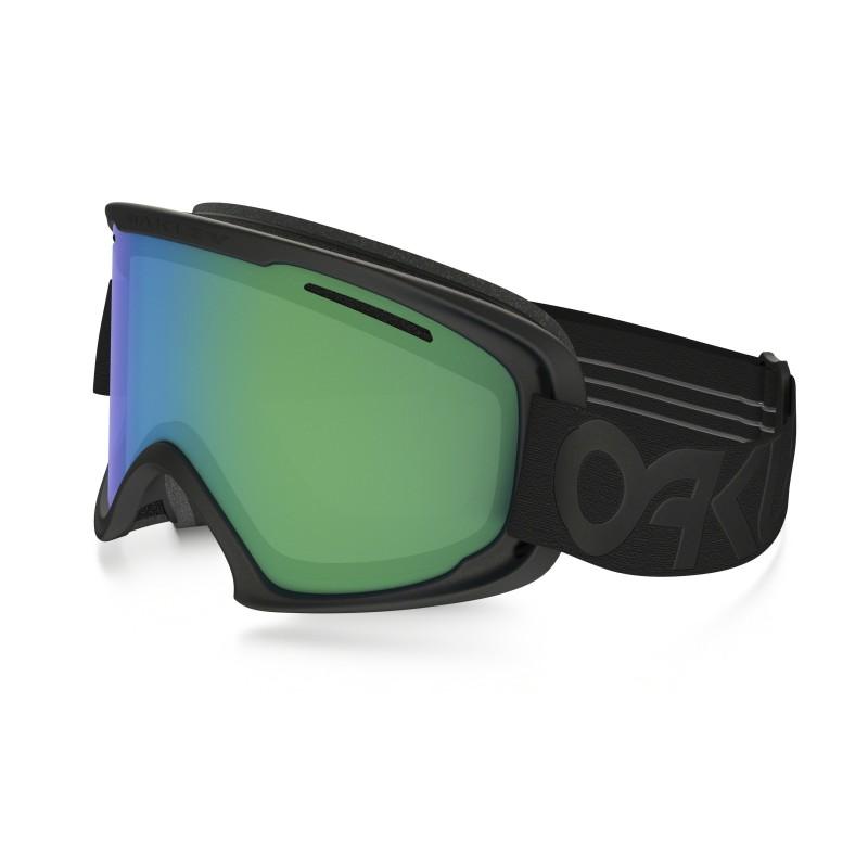 Oakley O2 XL - Matte Black / Jade Iridium - Skibril OO7045-07