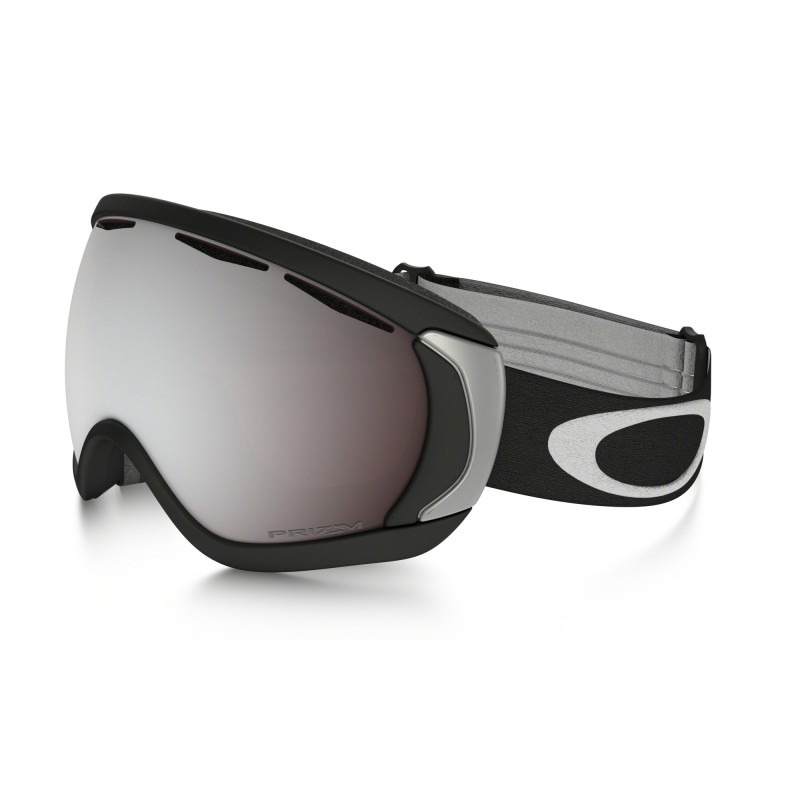 Oakley Canopy - Mat Zwart / Prizm Black Iridium - Skibril