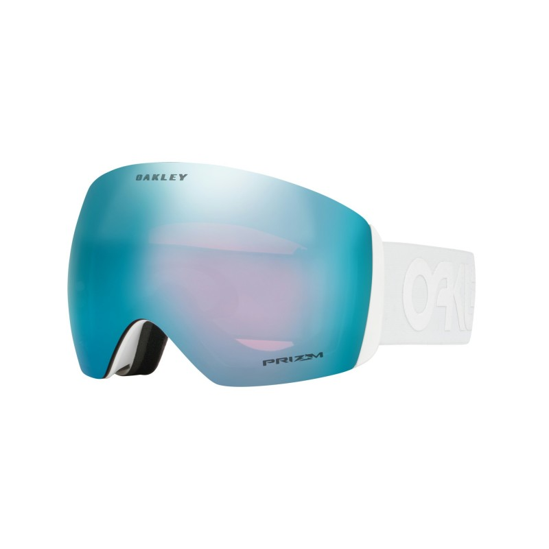 Oakley Flight Deck Factory Pilot Whiteout / Prizm Snow Sapphire Iridium OO7050-35 Skibril