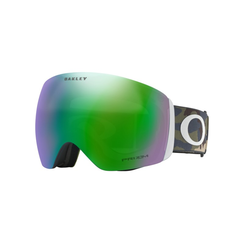 Oakley Flight Deck Army Camo Collection / Prizm Snow Jade Iridium OO7050-54 Skibril
