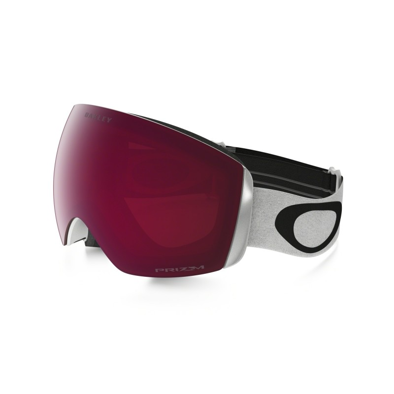 Oakley Flight Deck XM - Matte White / Prizm Snow Rose - OO7064-02 Skibril