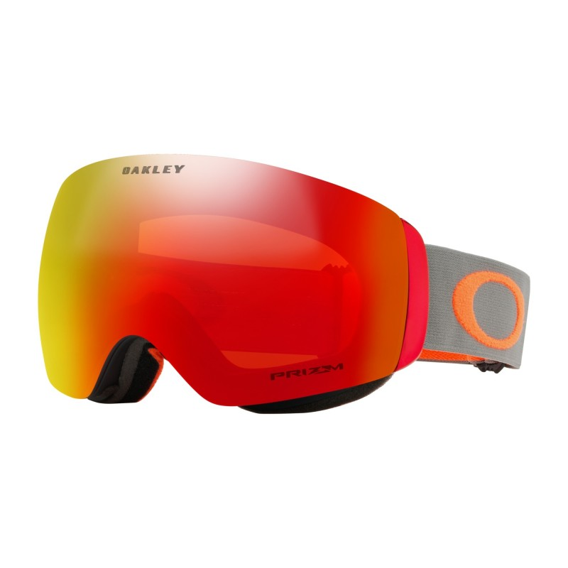 Oakley Flight Deck XM Darkbrush Org + Prizm Snow Torch Iridium OO7064-76