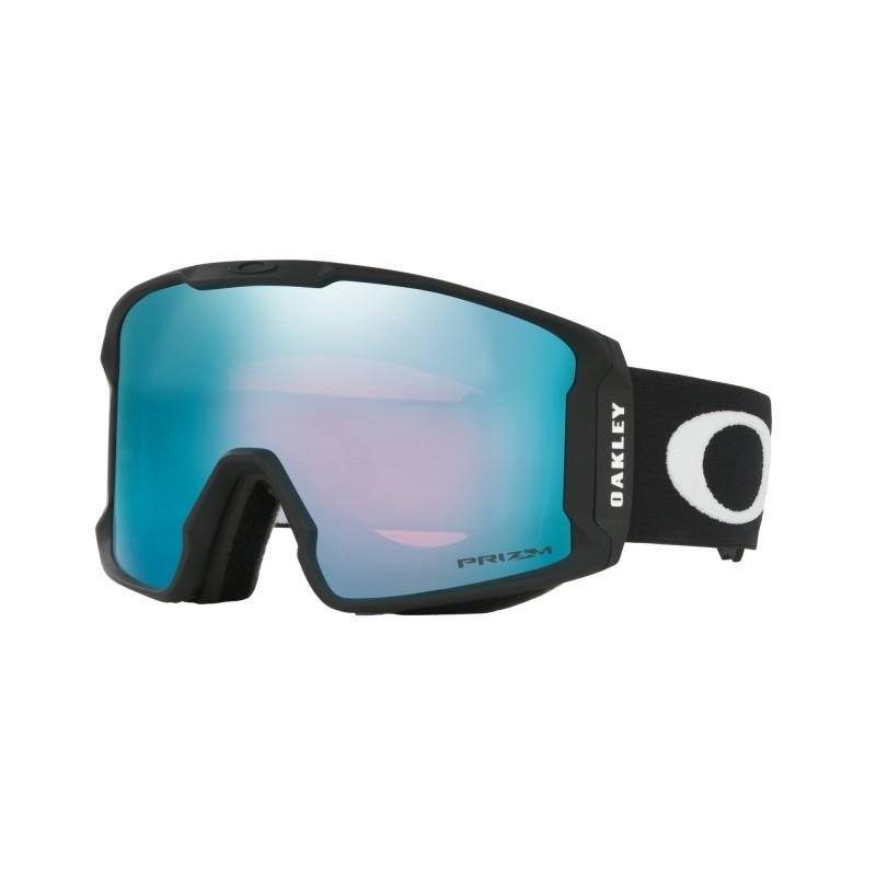 Oakley Line Miner - Matte Black / Prizm Snow Sapphire Iridium - OO7070-04 Skibril