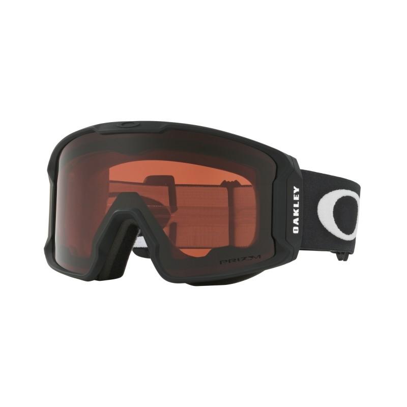 Oakley Line Miner Prizm Inferno - Matte Black / Prizm Rose - OO7070-11 Skibril