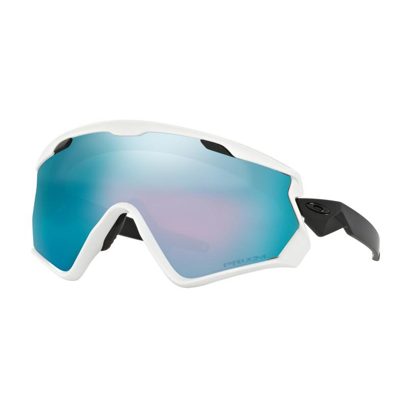 Oakley Wind Jacket 2.0 Matte White + Prizm Snow Sapphire Iridium OO7072-03