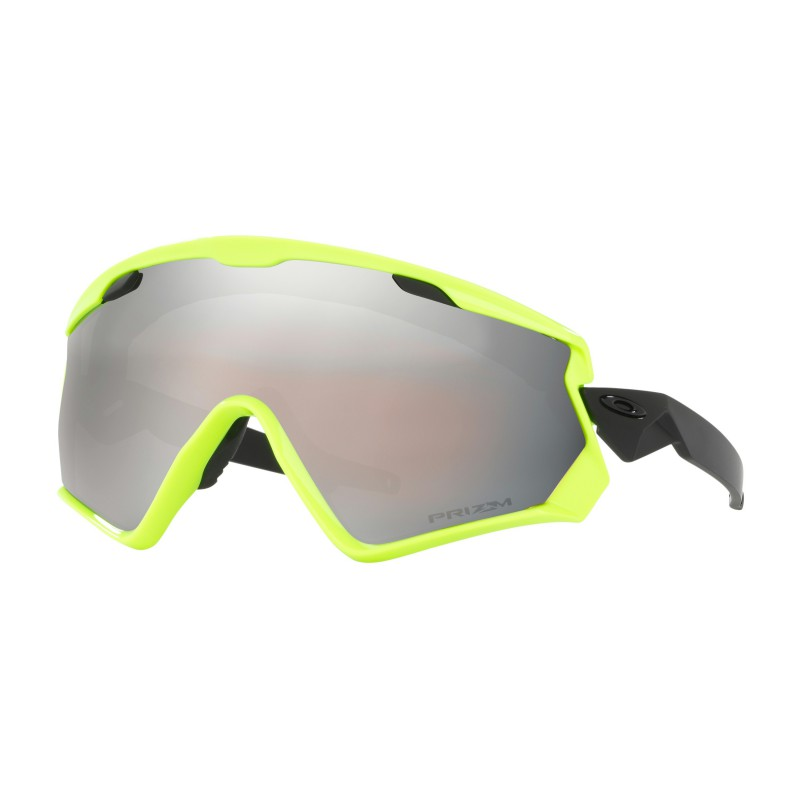 Oakley Wind Jacket 2.0 Neon Retina + Prizm Snow Black Iridium OO7072-06