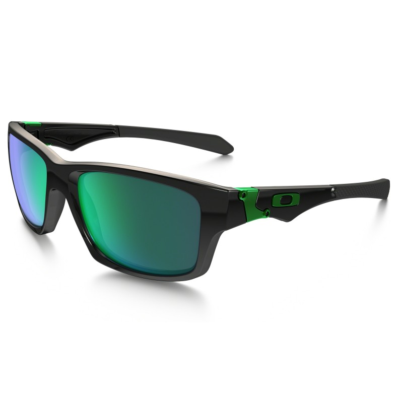 Oakley Jupiter Squared - Polished Black / Jade Iridium - OO9135-05 Zonnebril